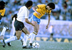 Socrates  : Socrates takes on West Germay's Felix Magath