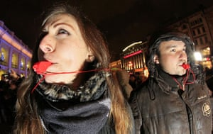 russia elections: protest against vote rigging in St. Petersburg