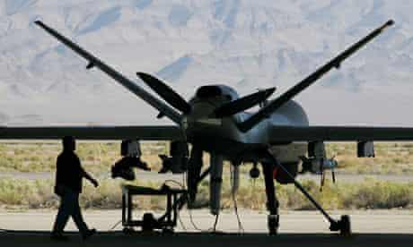 US drone aircraft