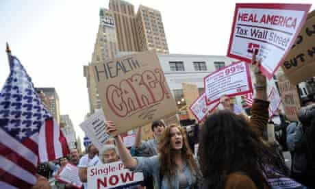 Occupy Wall Street healthcare
