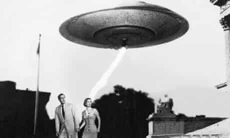invasion of the flying saucers