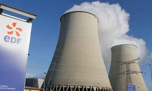 EDF nuclear plant in Nogent-sur-Seine