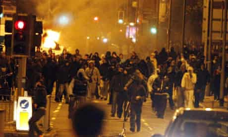 Riots in Toxteth, Liverpool
