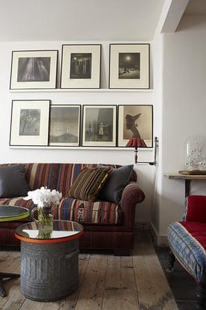 Brighton house: Living room