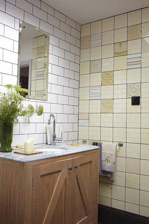 Brighton house: bathroom tiles