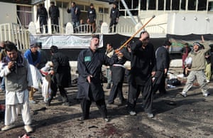 Kabul bombing: Shocked worshippers