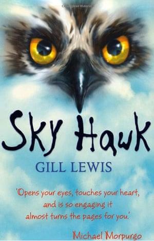 Older Childrens Books: Older Children's Books - Sky Hawk by Gill Lewis