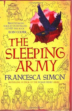 Older Childrens Books: Older Children's Books - The Sleeping Army by Francesca Simon