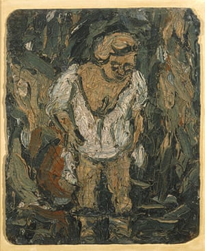 Mystery of Appearance: Leon Kossoff A Woman Bathing (Study after Rembrandt) 1982