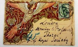 Dmitri Mendeleev's business card
