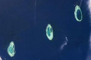 Satellite Eye on Earth: Rowley Shoals