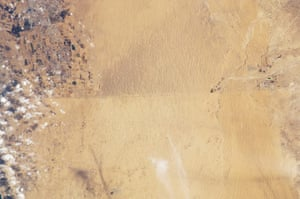 Satellite Eye on Earth: international border between Egypt and Israel