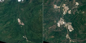 Satellite Eye on Earth: Athabasca Oil Sands in Alberta, Canada