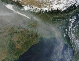 Satellite Eye on Earth: Haze over Bangladesh and the Bay of Bengal