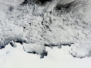 Satellite Eye on Earth: springtime in the Antarctic