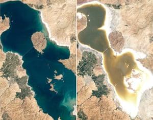 Satellite Eye on Earth: Lake Orumiyeh in Iran