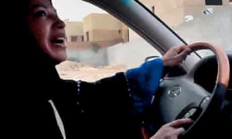 Saudi Arabian  woman driver