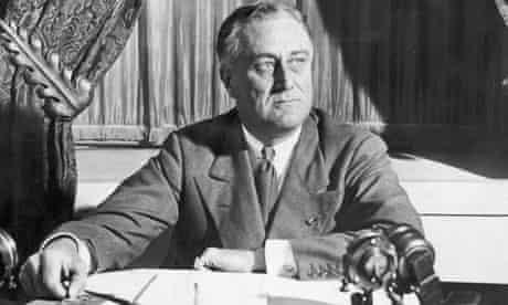 American President Franklin Delano Roosevelt (1882-1945)