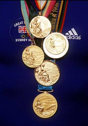 rowing: Steve Redgrave Medal