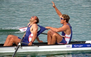 rowing: Steve Redgrave and James Cracknell