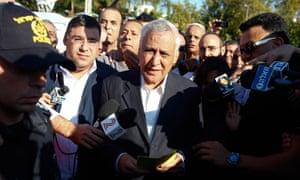 Former Israeli president Moshe Katsav