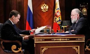 Vladimir Churov, Dmitry Medvedev