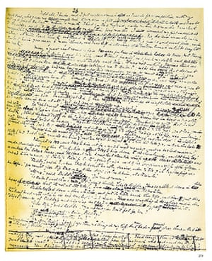 Great Expectations: A page from the manuscript of Great Expectatio