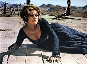Claudia Cardinale: Claudia Cardinale in Once Upon A Time In The West