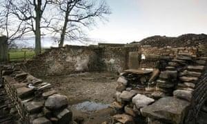 Cottage, Lower Black Moss, near Pendle, Lancs