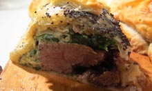 British Larder recipe beef wellington