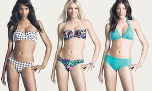 Spot the difference: the mannequin models in H&M's campaign.