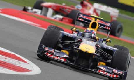 An F1 - Formula One - race