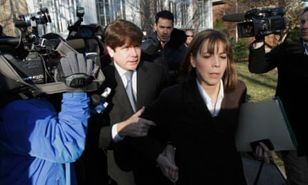 Gov. Rod Blagojevich and his wife Patti