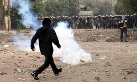Egypt, teargas