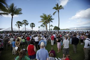 Pearl Harbour 70th: A memorial service is held to commemorate 70th anniversary of Pearl Harbour