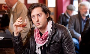 Carl Barat in The French House pub in Soho, London
