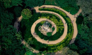 Aerial View of the Jardin des Plantes