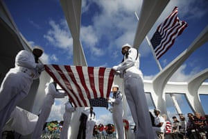 24 hours in pictures: 0th anniversary of the attack on Pearl Harbor, Hawaii