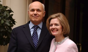 Iain Duncan Smith with his wife Betsy