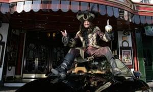 Hofftastic! David Hasselhoff as Captain Hook.