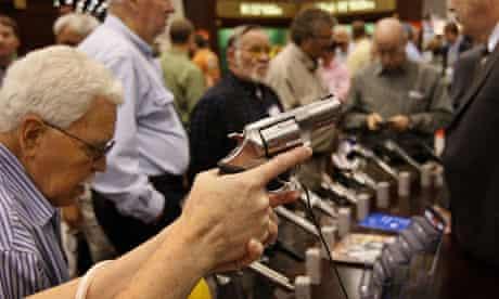 NRA, US gun laws