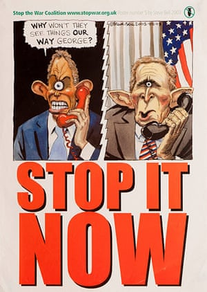 Stop The War: Stop The War: A Graphic History - Steve Bell
