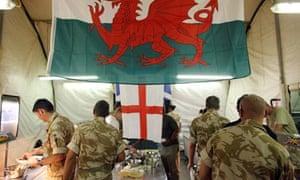 British army's Helmand headquarters