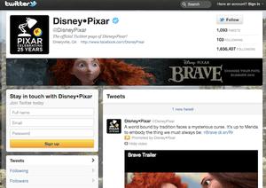 Disney Pixar Twitter