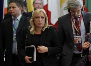 European Union Summit: Slovakia's prime minister Iveta Radicova