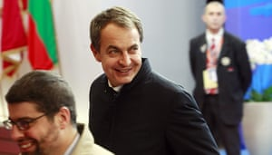 European Union Summit: Spanish prime minister Jose Luis Rodriguez Zapatero