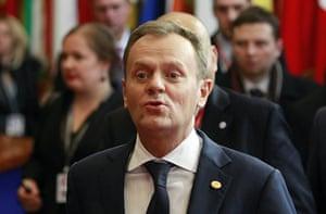 European Union Summit: Polish prime minister Donald Tusk