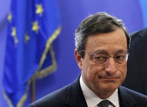 European Union Summit: European Central Bank (ECB) president Mario Draghi