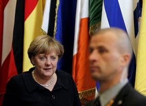 European Union Summit: Germany's Chancellor Angela Merkel