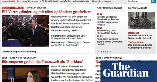 Eurozone Deal News Website Front Pages In Pictures